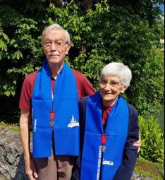 Fidélité : Mai 2019 : ont obtenu leur 3e étoile pour 15 pèlerinages dans la Chorale