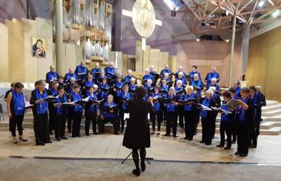 Concert-méditation donné à l'église Sainte-Bernadette - mai 2019