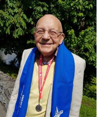Mai 2019 : a reçu une couronne de lauriers pour 25 pèlerinages dans la Chorale